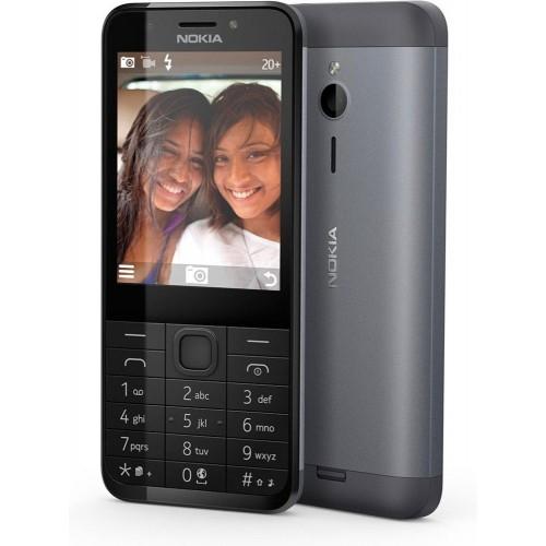 Nokia 230 Dual Dark Silver (A00026971) (Черный)