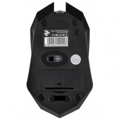 Мышь 2E MF203 WL Black (2E-MF203WB)