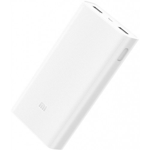 Внешний аккумулятор (Power Bank) Xiaomi Mi Power Bank 2C 20000mAh White (PLM06ZM)