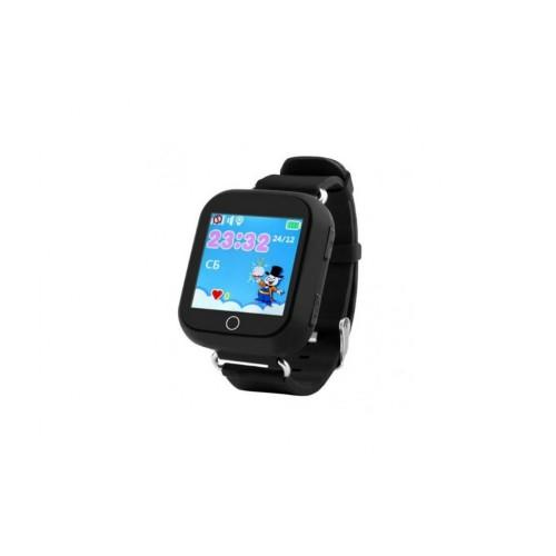 Детские умные часы SmartWatch TD-02 (Q100) GPS-Tracking Wifi Black