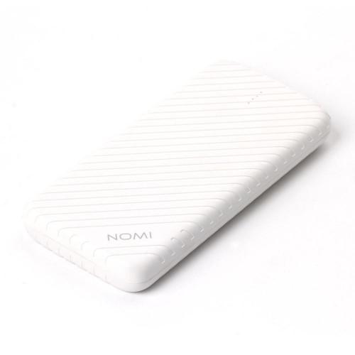 Внешний аккумулятор (Power Bank) Nomi F100 10000 mAh White