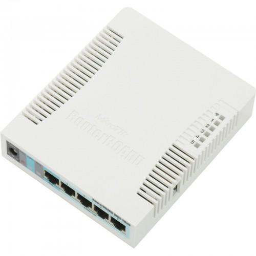 Беспроводной маршрутизатор (роутер) Mikrotik RB951G-2HnD
